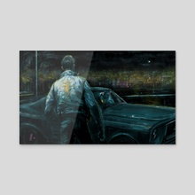 DRIVE - Acrylic by Vincent Nappi