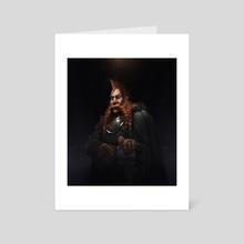 Vall - Art Card by Marius Bota