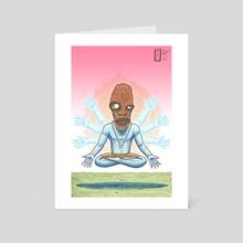 Executioner Before Healer - Art Card by Michael Calderon
