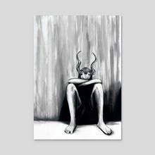 Keep The Sabbath Holy - Acrylic by Zombie Rust