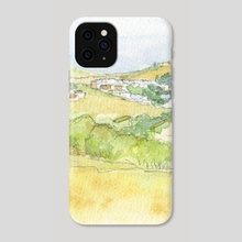 Burgau village - Algarve, Portugal - Phone Case by Carl Conway