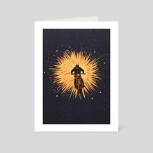 RamblerJump - Art Card by stayano