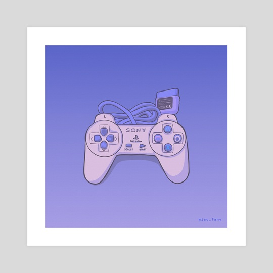 Playstation 1 Pad by Fany Misu