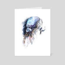 FACE#11 - Art Card by Rafał Wnęk