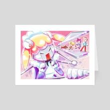 Lil Miss Marshmallow - Art Card by fogcat