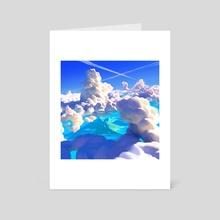 Ocean Clouds - Art Card by Thorsten Denk