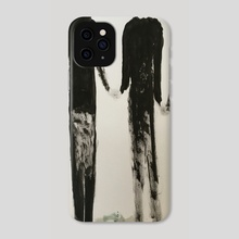 father mother and son ....and dog - Phone Case by Jorge Heilpern