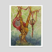 Capillaries  - Canvas by Matthew Jent