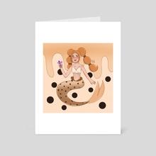 boba mermaid - Art Card by alifah imansurya
