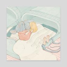Cozy Slippers - Canvas by Martina Brancato