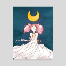 Pretty Little Moon - Canvas by Cazel Rulloda