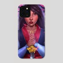 Fa Mulan - Phone Case by Tosin Kadiri
