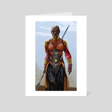 Okoye - Art Card by Alexandra Kozlova