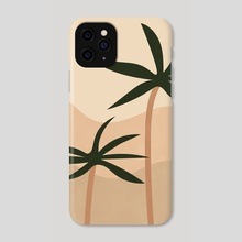 Bohemian Style Palm Springs - Phone Case by Ariani Anwar