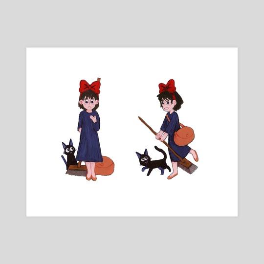 Kiki and Jiji by Jesse Naguib