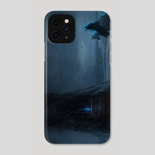 The Soul Keeper - Phone Case by Santa Norvaisaite