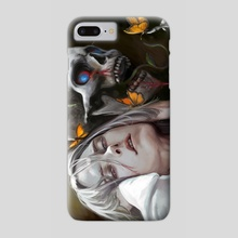 Akio Skull - Phone Case by Anastasia Su