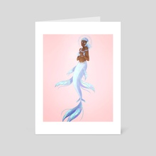 angelic - Art Card by chance