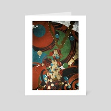 Ocean ball-4 - Art Card by wudufu