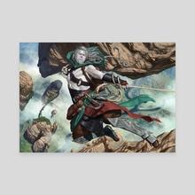 Ardenn, Intrepid Archaeologist - Canvas by Jason Rainville