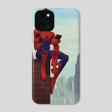 Spider-Man - Phone Case by Alyssa Tallent