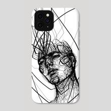 Higher Self (white) - Phone Case by Jio Maia