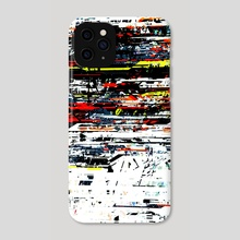 992013, a digital abstract - Phone Case by Živko Kondić