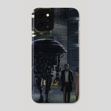 Dystopia - Phone Case by Dean Vigyikan