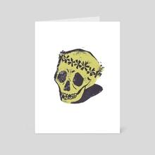 Skull - Art Card by Marley Allen-Ash