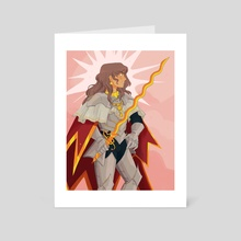 Knightober 22: Sun - Art Card by Loren Davis