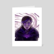 Sorceress Claire - Art Card by Sasja Zwagerman