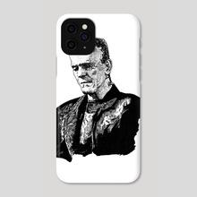 Frankenstein - Phone Case by elverbo studio