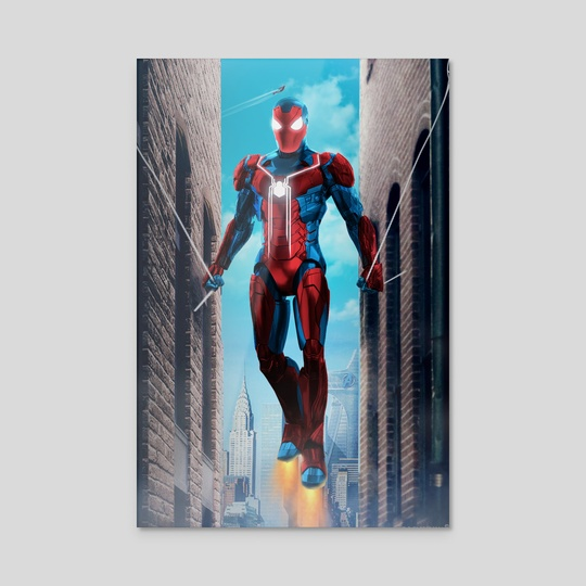 Iron Spider man homecoming by ATLANT99
