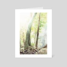 Summer Light - Art Card by Holly Carton