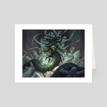 Hythonia, the Cruel - Art Card by Chris Rahn