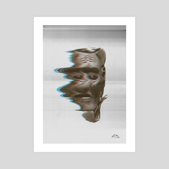 Noh Mask - Shiwa Jyou by C. Bearskin