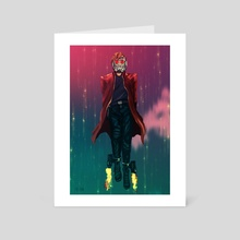 Space Outlaw - Art Card by Patrycja Cmak