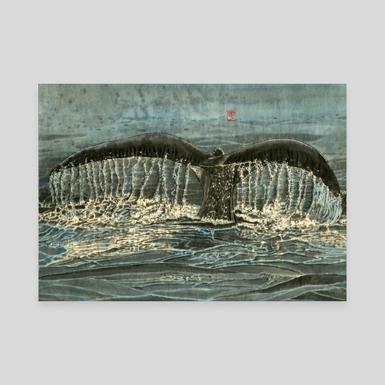 Whale - 3 by River Han