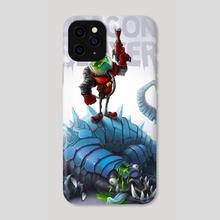 Dragon Slayer - Phone Case by Tadas Adomavicius