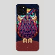Owl 2 - Phone Case by Ali Gulec