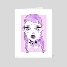 Crybaby IV - Art Card by Anna Rosenkrans Birkedal