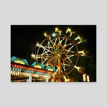 Ferris Wheel Fun - Canvas by Chelsea McMillen