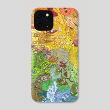 Monsters and Aliens - Phone Case by stuart Hatt