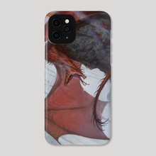 Red Dragon Mount - Phone Case by Felipe Escobar