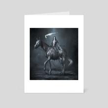 Horseman of Death - Art Card by Damon Hellandbrand