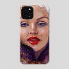 Monroe effect - Phone Case by Foksynes