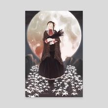 Bloodborne doll - Canvas by Han