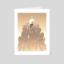 Rising - [2/2] - Art Card by Isaiah Shaw