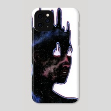 Inner Space - Phone Case by Sin Ribbon