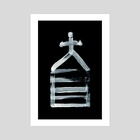 Alchemical Symbols - Salt Three Inverted - Art Print by Wetdryvac WDV